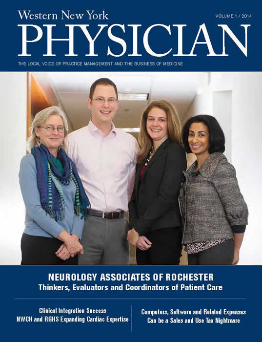 Vol 1 2014 Neurology Associates of Rochester