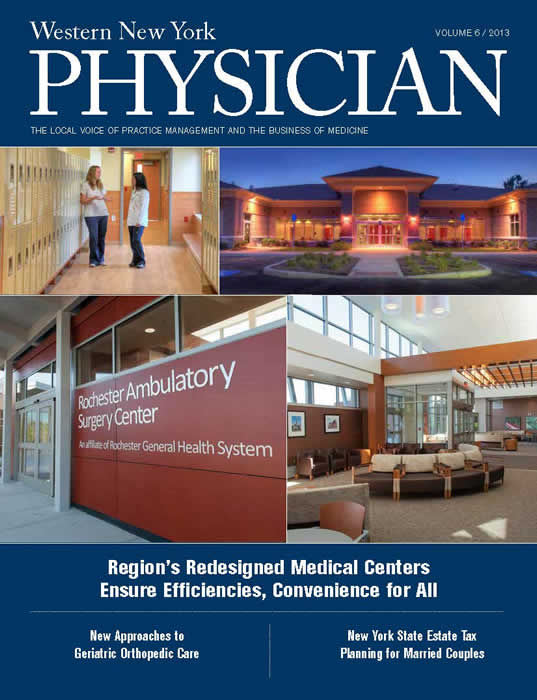 Region's Redesigned Medical Centers Vol 6 WNY Physician Mag